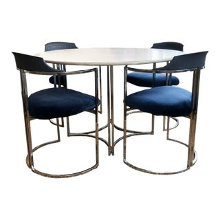 Mid Century Modern Daystrom Dining Chairs and Table For Sale