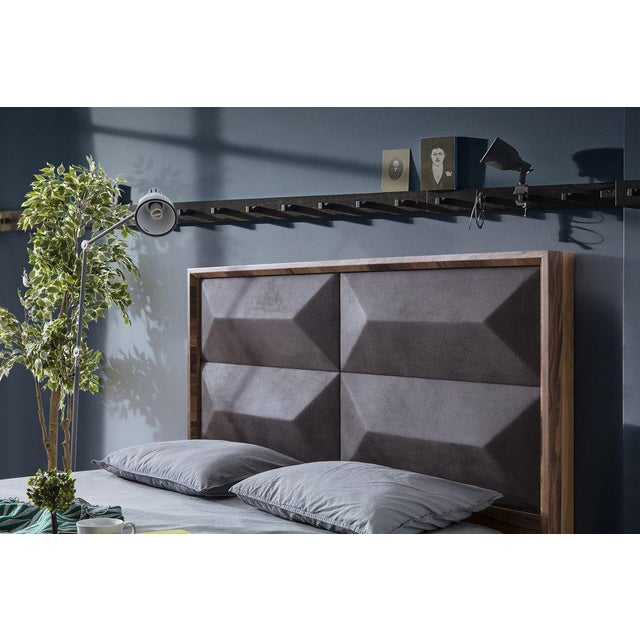 Statements By J Mario Upholstered Wood Bed - Image 5 of 5