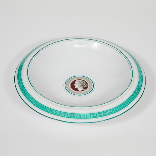 Mid-Century Modern Porcelain Luncheon Serving Pieces From Late 19th Century Germany - Set of 10 For Sale - Image 3 of 7