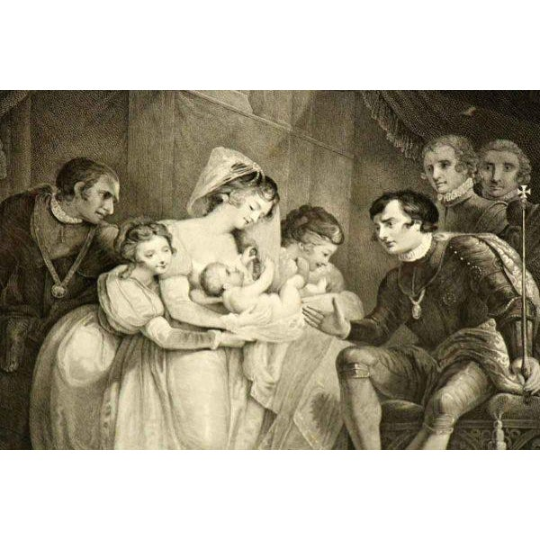 Vintage Shakespeare Print For Sale - Image 4 of 7