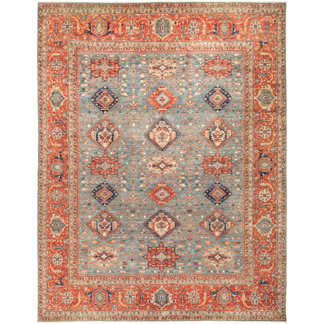 "Serapi Hand Knotted Area Rug - 11' 10"" X 15' 3"" - Image 4 of 4"