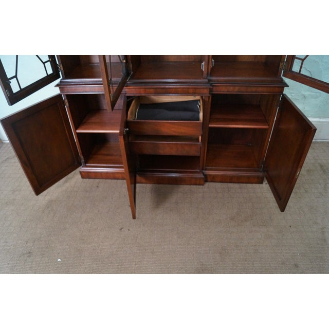 Kindel Mahogany Chippendale Style China Cabinet - Image 5 of 10
