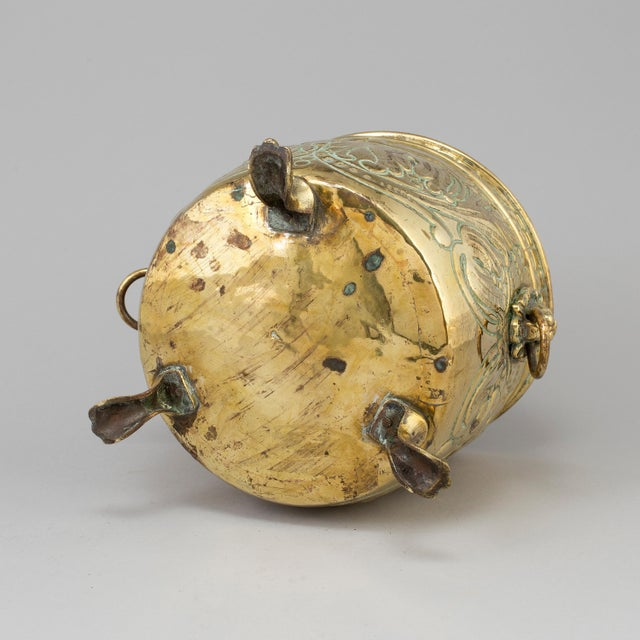 Brass Flower Pot, 19th Century, France For Sale - Image 4 of 5