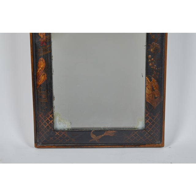19th Century English Chinese Chinoiserie Mirror For Sale - Image 4 of 8