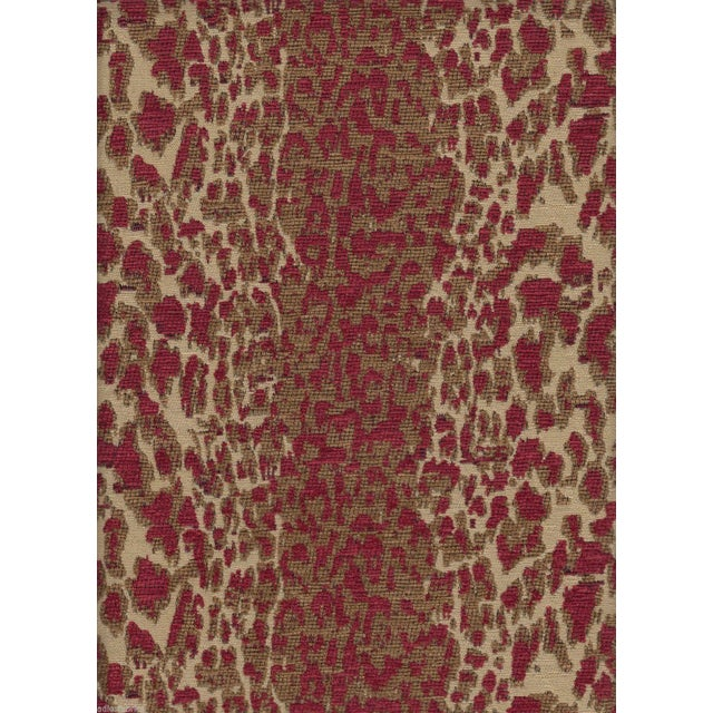 Hancock & Moore Animal Motif Chenille - 1 Yard - Image 1 of 4