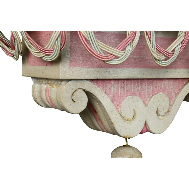 Chinese Painted Wood Elephants on Brackets - a Pair For Sale In Boston - Image 6 of 13