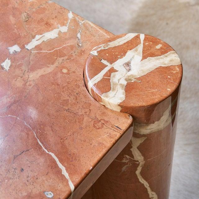 Mid-Century Modern Gae Aulenti Knoll International Marble Jumbo Table For Sale - Image 3 of 5