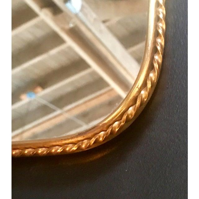 Brass Mirror, Italian 1960s - Image 6 of 7