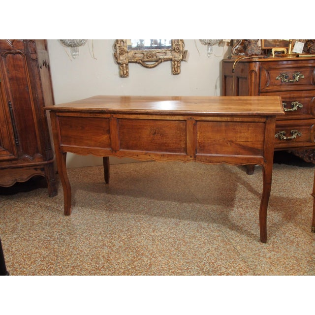 Wood 19th Century French Writing Desk For Sale - Image 7 of 9