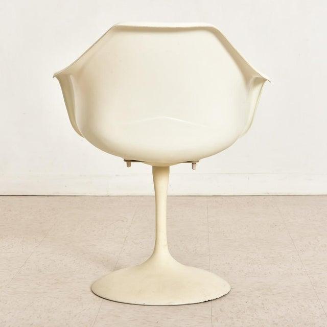 Mid-Century Modern Vintage Eero Saarinen Tulip Dining Set - 5 Pieces For Sale - Image 3 of 10