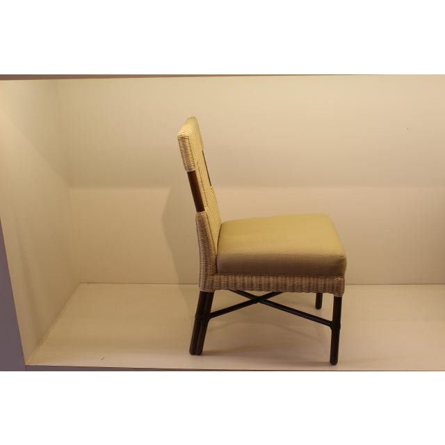 McGuire Thomas Pheasant Woven Core Dining Side Chair - Image 3 of 5