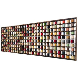 Wall Sculpture, Wool Rack For Sale