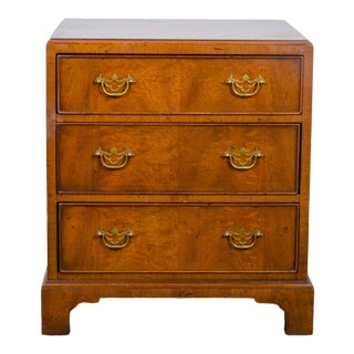 Henredon Portfolio Walnut Chest For Sale