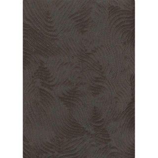 Sample, Maya Romanoff Jewel Collection Momi Moonstone - Mulberry & Rayon Fiber Paper Wallcovering For Sale