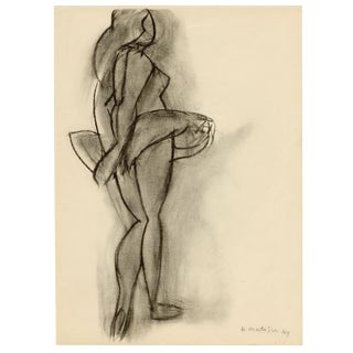 """Danseuse"" - Henri Matisse. Original Lithograph From ""Derriere Le Miroir - No.46-47 - Matisse"" (1952) For Sale"