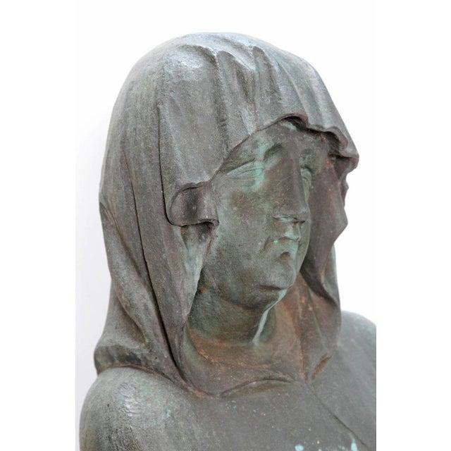 Bronze Female Statue For Sale - Image 12 of 13