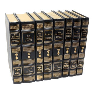 Vintage Literary Classics Book Collection by the Easton Press - Set of 8 For Sale