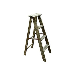 Vintage Wooden Ladder For Sale