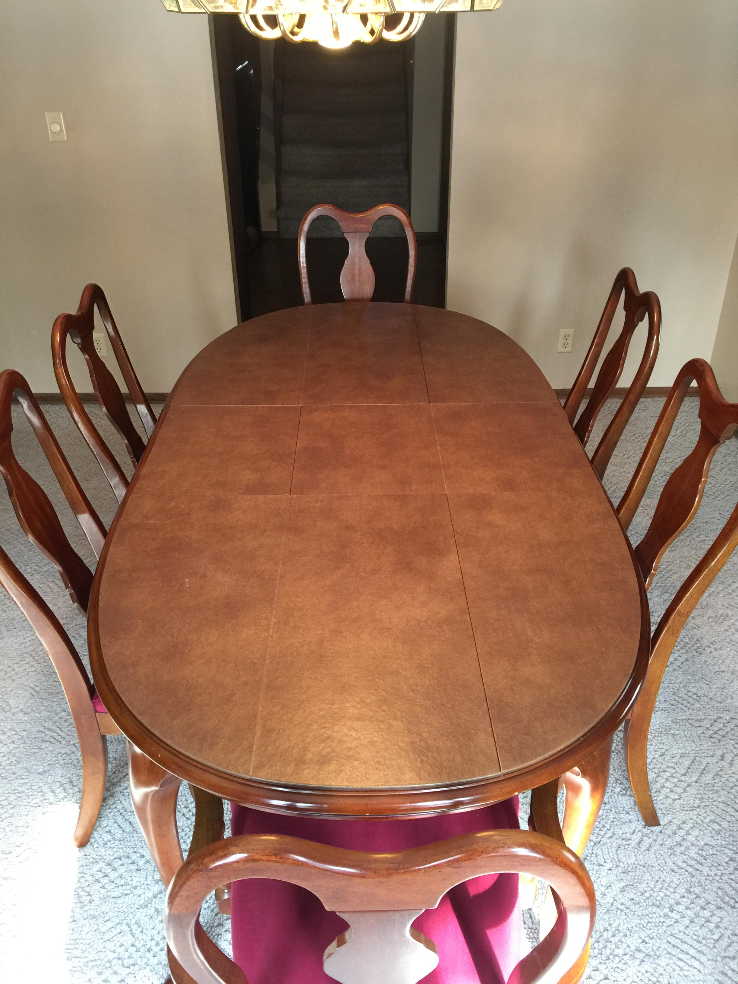 This Formal Dining Set Was Made By Henry Link Corp Of Lexington, NC,  Distributed