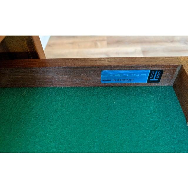 1960's Dyrlund Teak 3-Door Credenza/Sideboard For Sale - Image 11 of 13
