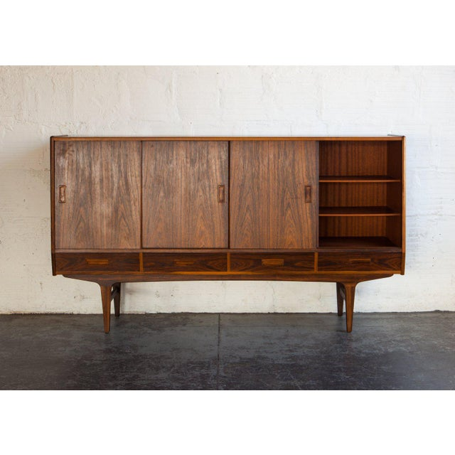 1960s 1960s Swedish Rosewood Sideboard For Sale - Image 5 of 13