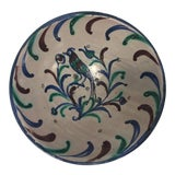 Image of Turkish Ceramic Strainer Fruit Bowl For Sale