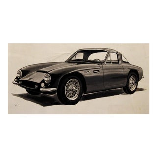 Car Illustration by Conrad Moulton For Sale