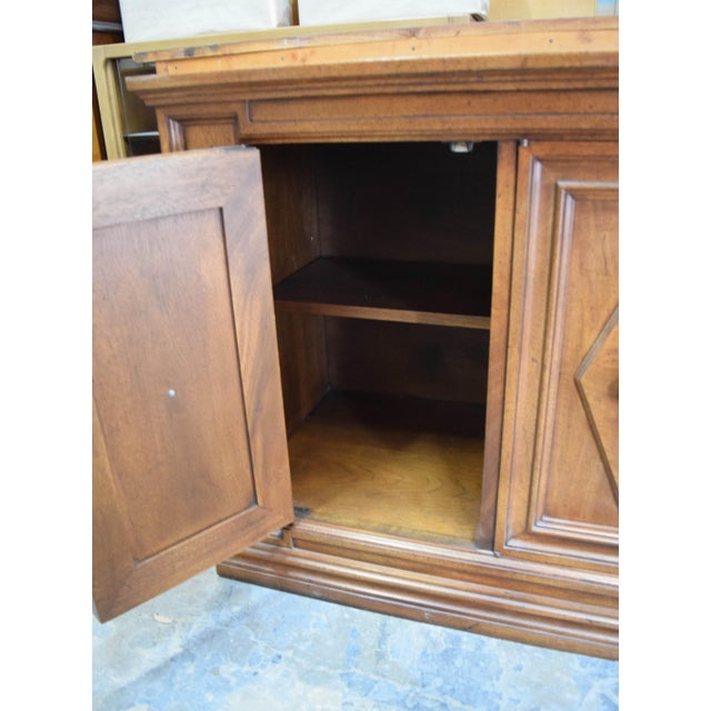 Late 19th Century Vintage Mount Airy Furniture Five Doors Credenza Cabinet For Sale In San Francisco - Image 6 of 9
