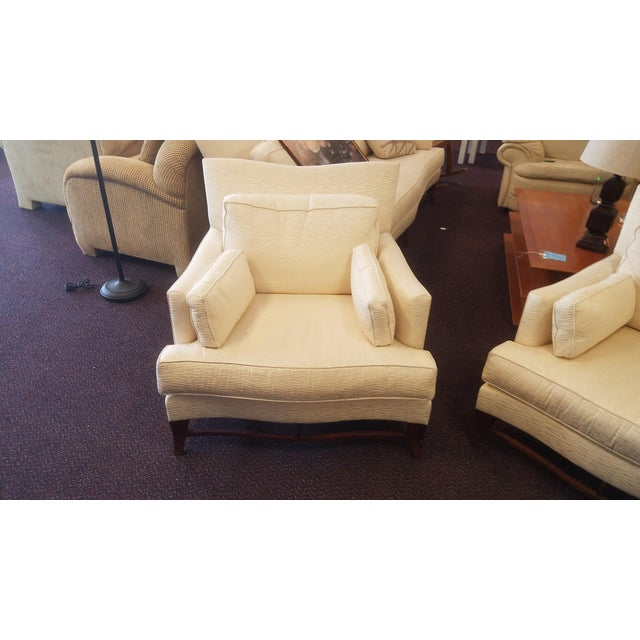 Classic Donghia Victoire Club Chairs - a Pair For Sale - Image 10 of 11