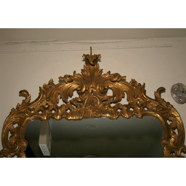 15th Century & Earlier George II Giltwood Mirror, Circa 1750 For Sale - Image 5 of 9