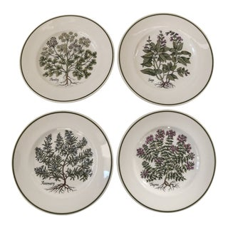 "Tiffany & Co. ""Herbs"" Plates by Johnson Brothers - Set of 4 For Sale"
