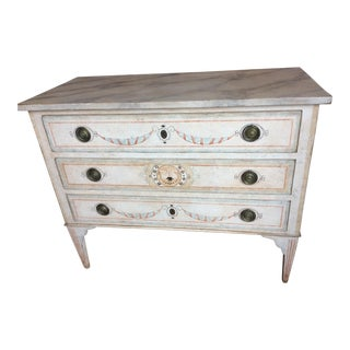 Niermann Weeks Swan Commode Chest For Sale
