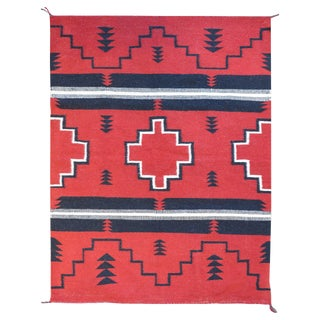 Beautiful Mid-20th Century Navajo Rug For Sale