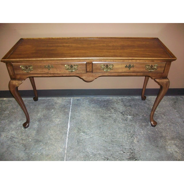 Harden Queen Anne Style Sofa Table Console - Image 2 of 10
