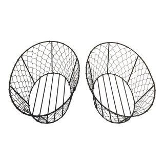 Wire Basket Pair