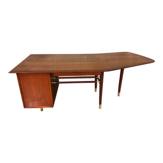 Mid-Century Modern Executive Boomerang Desk by Jasper