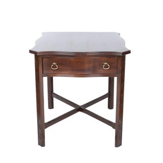 Chinese Chippendale Style End Table For Sale