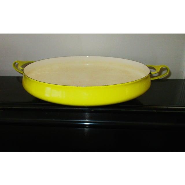 Jens Quistgaard Dansk Mid-Century Modern Yellow Paella Pan - Image 8 of 11