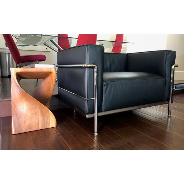 Mid-Century Modern Cassina Le Corbusier LC3 Armchair For Sale - Image 9 of 12