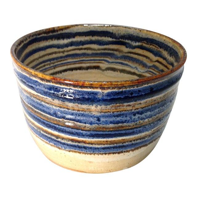Vintage Handmade Pottery Bowl - Image 1 of 10