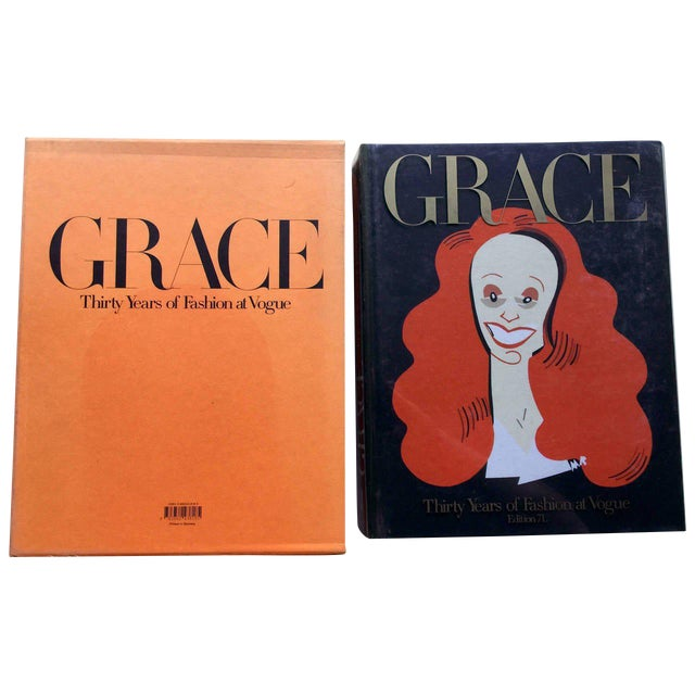 Grace, Thirty Years of Fashion at Vogue, First Edition Book in Original Box Grace Coddington For Sale