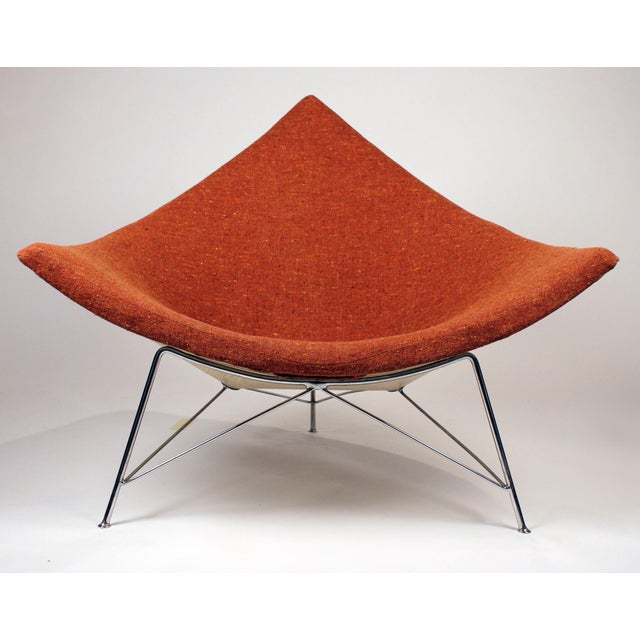 Museum Quality Early Coconut Chair & Ottoman by George Nelson for Herman Miller For Sale In Dallas - Image 6 of 10