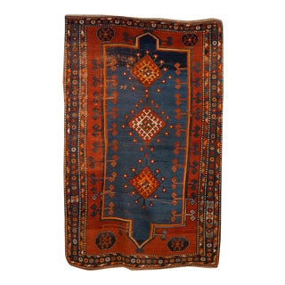 Vintage Persian Rug-4'8'x7'4' For Sale