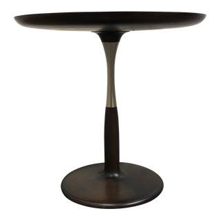 Giorgetti Chi Wing Lo Oti Roun Walnut Side Table For Sale