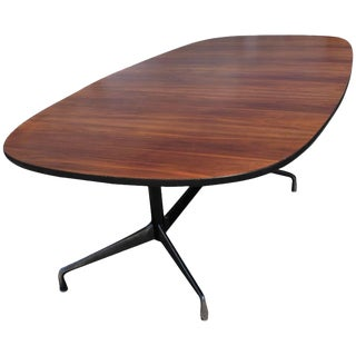 Vintage Herman Miller Eames Rosewood Conference Table For Sale