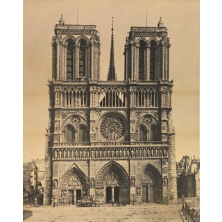 Mammoth Photograph of Notre Dame For Sale