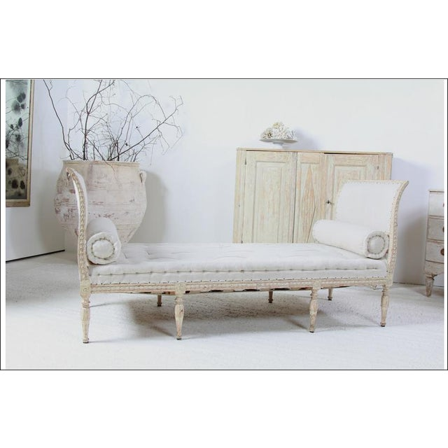18th C Gustavian Banquette For Sale In New Orleans - Image 6 of 6