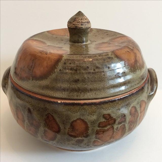 Decorative Ceramic Casserole - Image 3 of 6