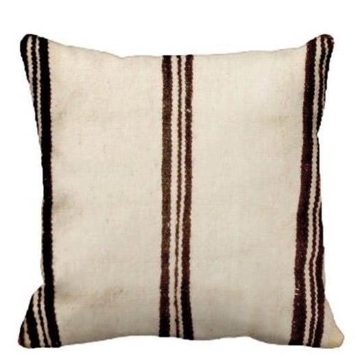 Beni Ourain Pillow - Image 1 of 2