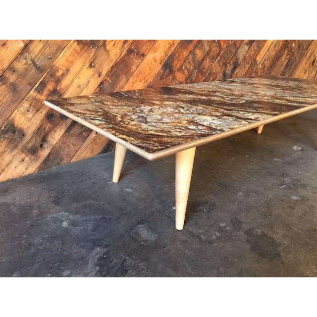 Contemporray Mid-Century Style Formica Coffee Table - Image 6 of 7
